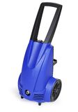Blue pressure portable washer Royalty Free Stock Photography