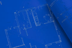 Blue print Stock Photography