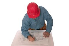 Blue prints 6 Royalty Free Stock Photo
