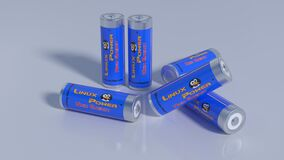 Blue, Product, Battery, Electronics Accessory Royalty Free Stock Images