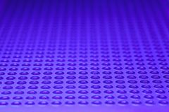 Blue Prototype PCB Board abstract background. Close up Stock Photography