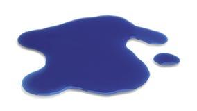 Blue Puddle Royalty Free Stock Photo
