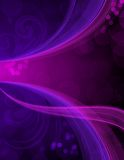 Blue and purple abstract. A blue and purple abstract background design Royalty Free Stock Images