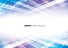 Blue & Purple Abstract Background Royalty Free Stock Image