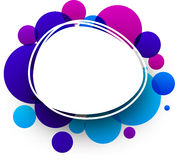 Blue and purple background. Paper blue and purple abstract background. Vector illustration Royalty Free Stock Images