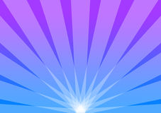 Blue and Purple Background Radiant Sunburst Royalty Free Stock Image