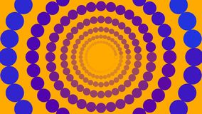 Blue and purple circles vector illustration