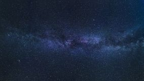 Blue and Purple Cosmic Sky Royalty Free Stock Image