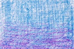 Blue and purple  crayon drawings on white background texture Royalty Free Stock Photography
