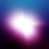 Blue-Purple Explosion Stock Image