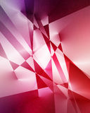 Blue and purple geometric background Stock Photography