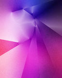Blue and purple geometric background Royalty Free Stock Images