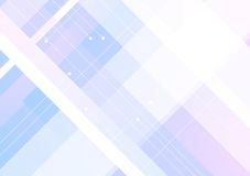 Blue purple geometric minimal background Royalty Free Stock Photography