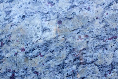 Blue and Purple Granite Stock Image