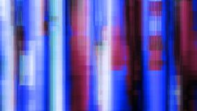 Blue Purple Noise Distorted Lines Digital Abstract Background Royalty Free Stock Photo