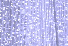 Blue purple pastel glitter background, lens bokeh effect Stock Photography