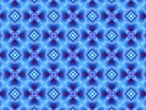 Blue and purple repeat geometric pattern Royalty Free Stock Images