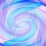 Blue purple swirl Stock Photography