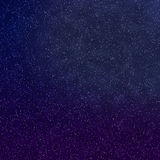 Blue and purple Twlight Stars Stock Images