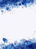 Blue purple watercolor background Royalty Free Stock Photo