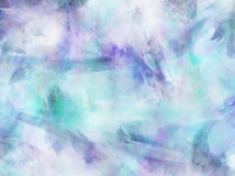 Blue Purple Watercolor Paper Background. Teal Aqua Blue Purple Watercolor Paper Colorful Texture Background royalty free stock images
