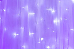 Blue and purple wedding Royalty Free Stock Images
