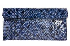 Blue purse Stock Photography
