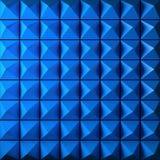 Blue Pyramid Royalty Free Stock Photo
