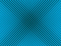 Blue pyramid background. 3d rendered blue pyramid background Stock Images