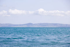 Blue Qinghai Lake Royalty Free Stock Photography