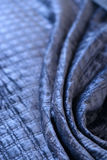 Blue quilt Royalty Free Stock Photo