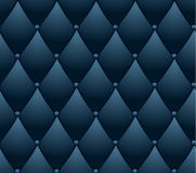 Blue quilted background. Royalty Free Stock Photo
