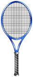 Blue racquet for tennis or squash Royalty Free Stock Photo