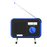 Blue radio Royalty Free Stock Image