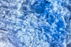 Blue randon minerals texture patterns Royalty Free Stock Photography