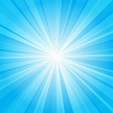 Blue ray background Stock Photos
