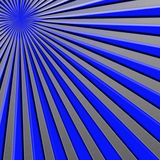 Blue ray Sun rays illustration royalty free stock images