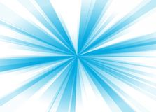 Blue rays Royalty Free Stock Image
