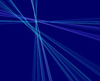 Blue rays royalty free stock photo
