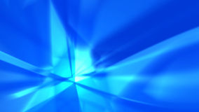 Blue rays - abstract background Royalty Free Stock Image