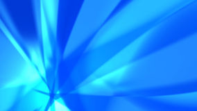 Blue rays - abstract background #3 Royalty Free Stock Photography