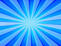 Blue Rays Background. A great background for your text or image. Please visit my portfolio for more Royalty Free Stock Photos