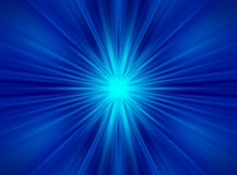 Blue Rays Background. Blue light rays forming background Royalty Free Stock Photography