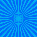 Blue rays background Stock Photography