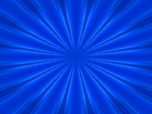 Blue rays background Royalty Free Stock Images