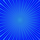 Blue rays background Royalty Free Stock Photos