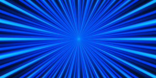 Blue rays background Royalty Free Stock Photos