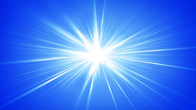 Blue rays shining abstract background. Blue rays shining. Computer generated abstract background Stock Image