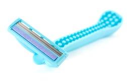 Blue razor Stock Photos