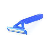 Blue razor Stock Photo